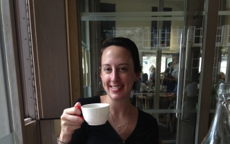 Having tea in London