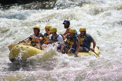 White Water Rafting, Pigeon River, Pigeon Forge, TN