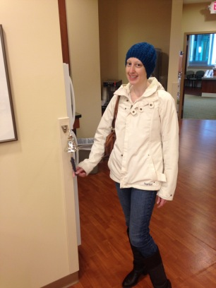 Last chemo, ringing the bell