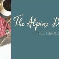 Alpine Dreams Beanie - Crochet Pattern