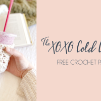 The XOXO Cold Cup Cozy