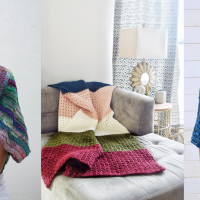 Free Patterns Featuring Foundation Stitches